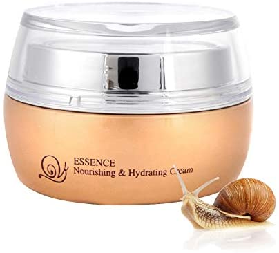 50ml Snail Facial Cream, Snail Essence Cream Day and Night Whitening Moisturizing Cream Anti Aging Anti-wrinkles Face Skin Repair Firming Moisturizer for Women